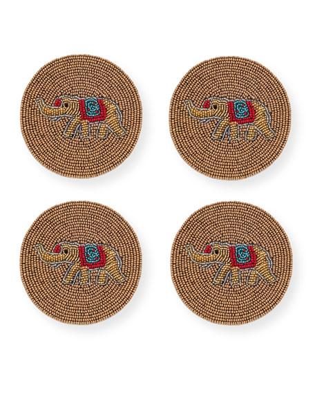 Joanna Buchanan Elephant Coasters, Set of 4
