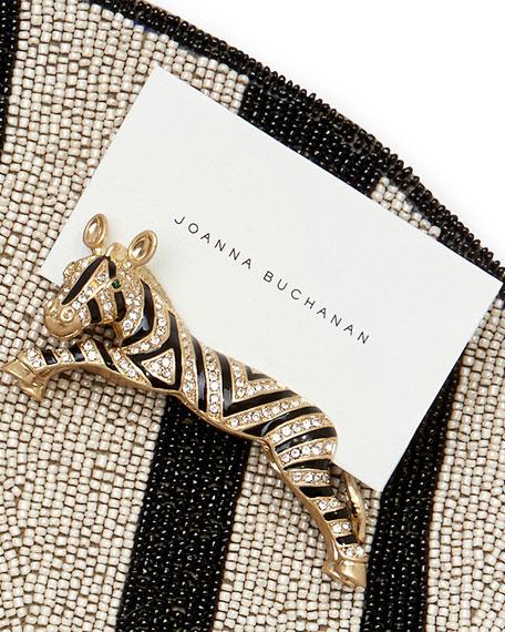 Joanna Buchanan Zebra Place Card Holders, Set of 2