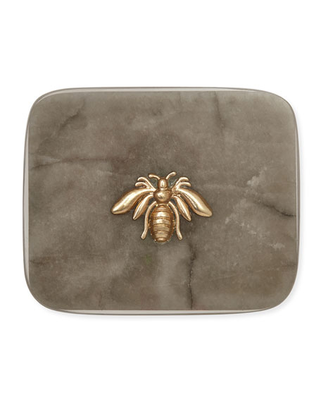 Joanna Buchanan Agate Bee Coasters, Set of 4