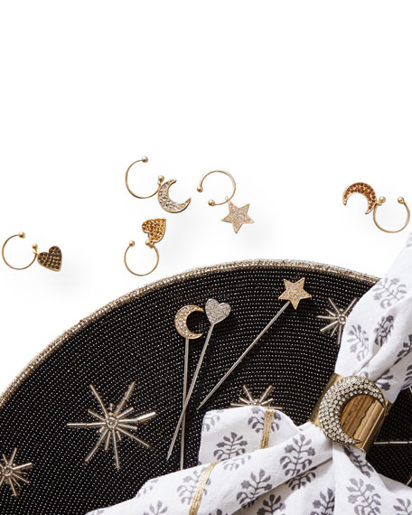 Joanna Buchanan Moon Napkin Rings, Set of 2