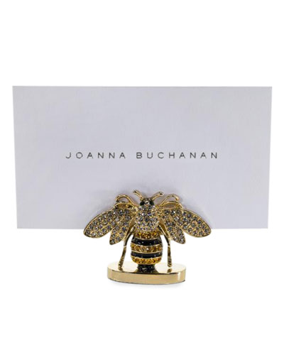 Stripy Bee Place Card Holders, Set of 2