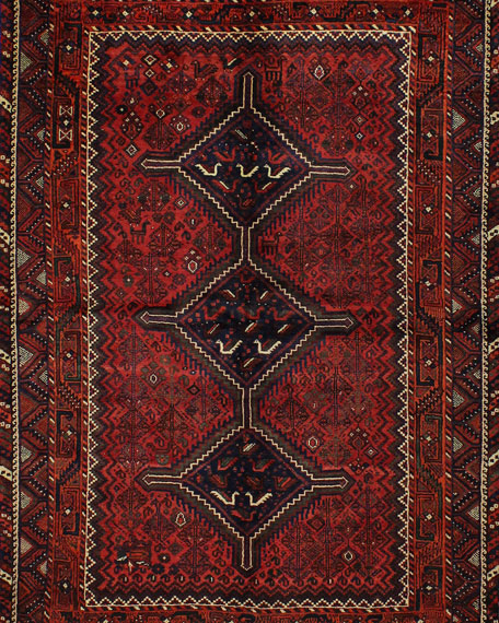 Joseph Hand-Knotted One of a Kind Rug, 6' x 8.1'