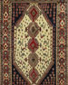 Naila Hand-Knotted One of a Kind Rug, 4.11' x 8.5'