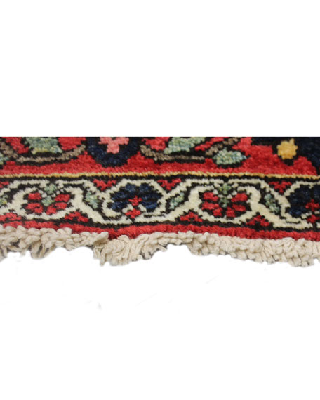 Beatrice Hand-Knotted One of a Kind Rug, 4.7' x 6.8'