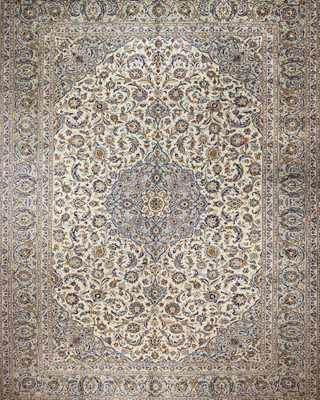 Marjorie Hand-Knotted One of a Kind Rug, 10.1' x 14.1'