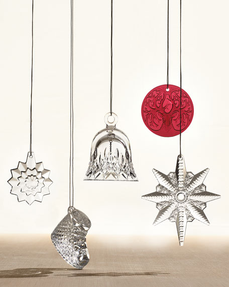 Waterford Crystal Annual Baby's First Christmas Ornament