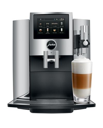 S8 Automatic Coffee Machine  Chrome