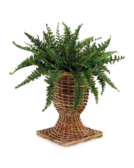 Mainly Baskets French Country Wicker Urn