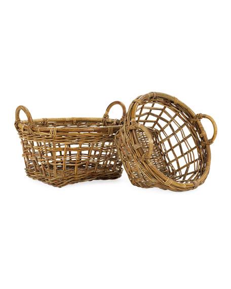 Mainly Baskets Cottage Garden Produce Basket