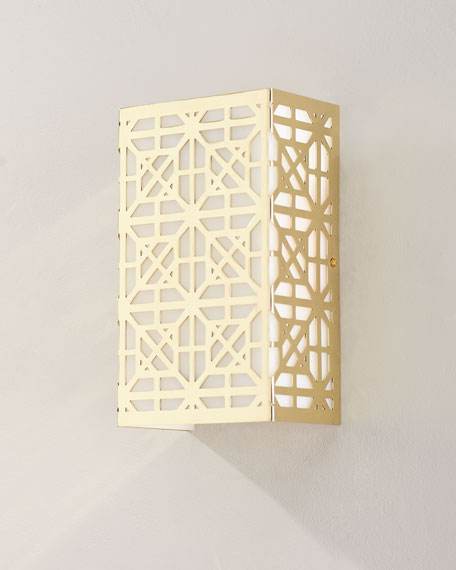 Jamie Young Lattice Wall Sconce