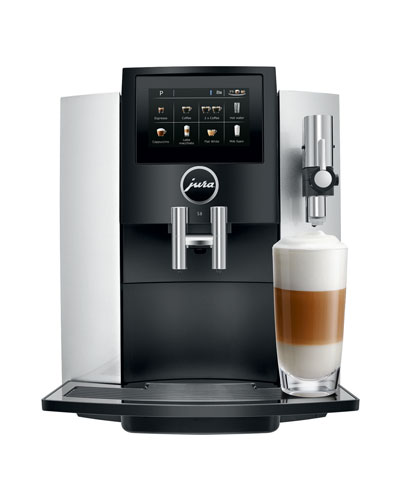S8 Automatic Coffee Machine  Moonlight Silver