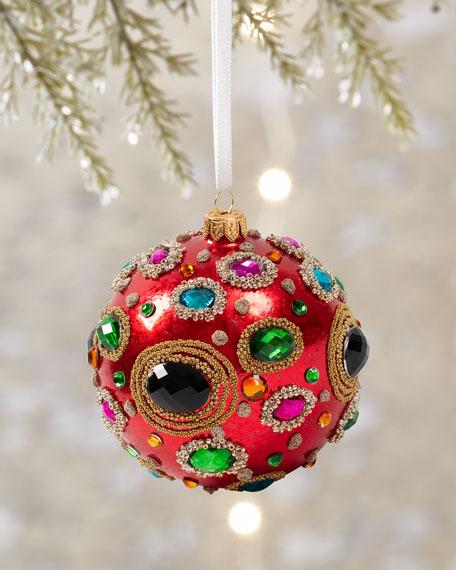 Caspari Jeweled & Beaded Ornament