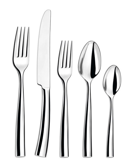Image 1 of 1: Silhouette 5-Piece Flatware Set
