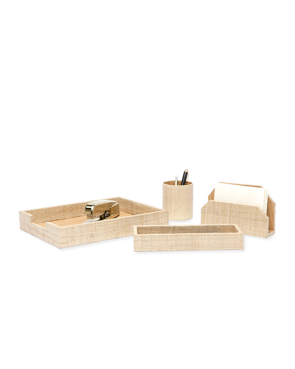 Pigeon And Poodle Koba Desk Accessories Set Neiman Marcus