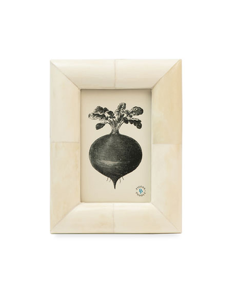 """Pigeon and Poodle Vannes Picture Frame, 4"""" x 6"""""""