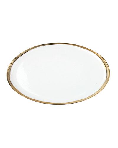 Dauville Small Oval Platter
