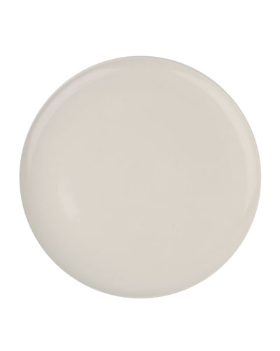 Shell Bisque White Dinner Plates  Set of 4