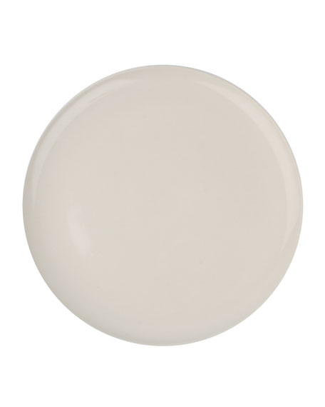 Canvas Home Llc Shell Bisque White Dinner Plates, Set of 4