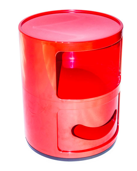 Kartell Componibili 2-Tier Winking Table