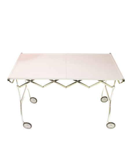 Kartell Battista Table on Casters