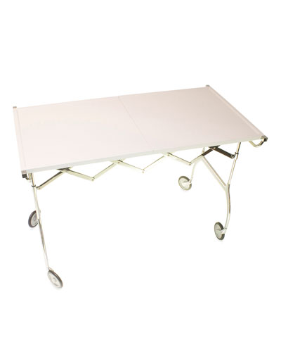 Battista Table on Casters