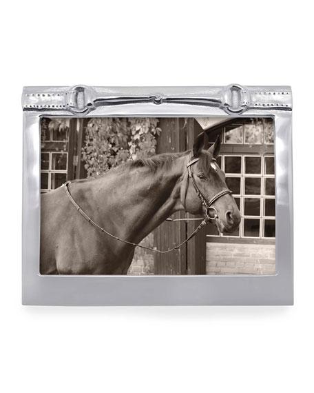 "Mariposa Horse Bit Picture Frame,  5"" x 7"""