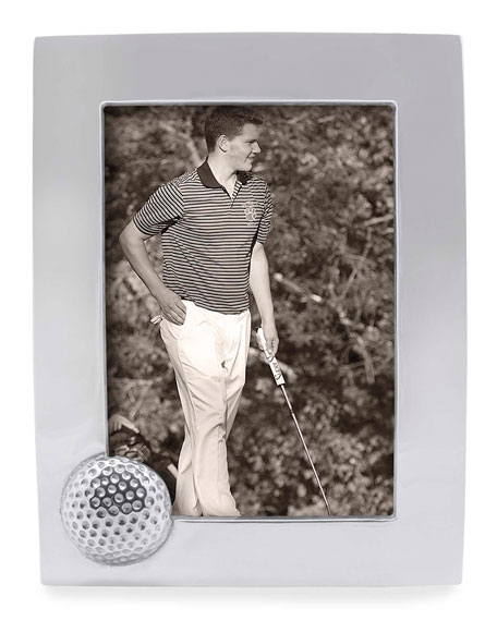 "Mariposa Golf Ball Picture Frame,  5"" x 7"""