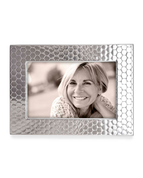 "Mariposa Honeycomb Picture Frame, 4"" x 6"""