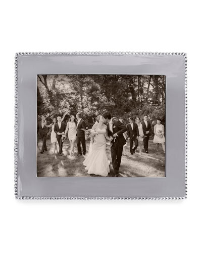 Beaded Engravable Picture Frame  8 x 10