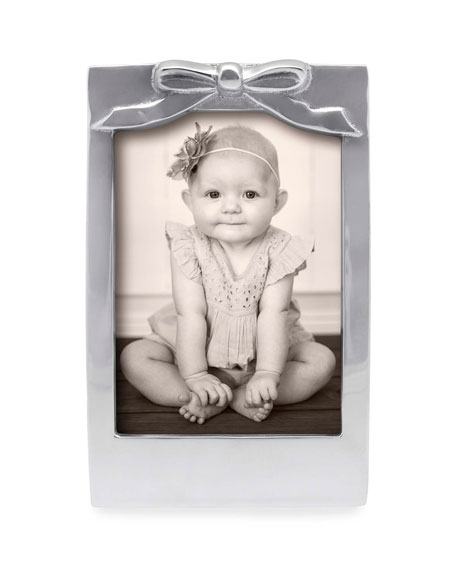 """Mariposa Bow Picture Frame,  5"""" x 7"""""""