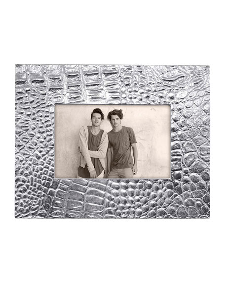 "Mariposa Croc Picture Frame, 4"" x 6"""