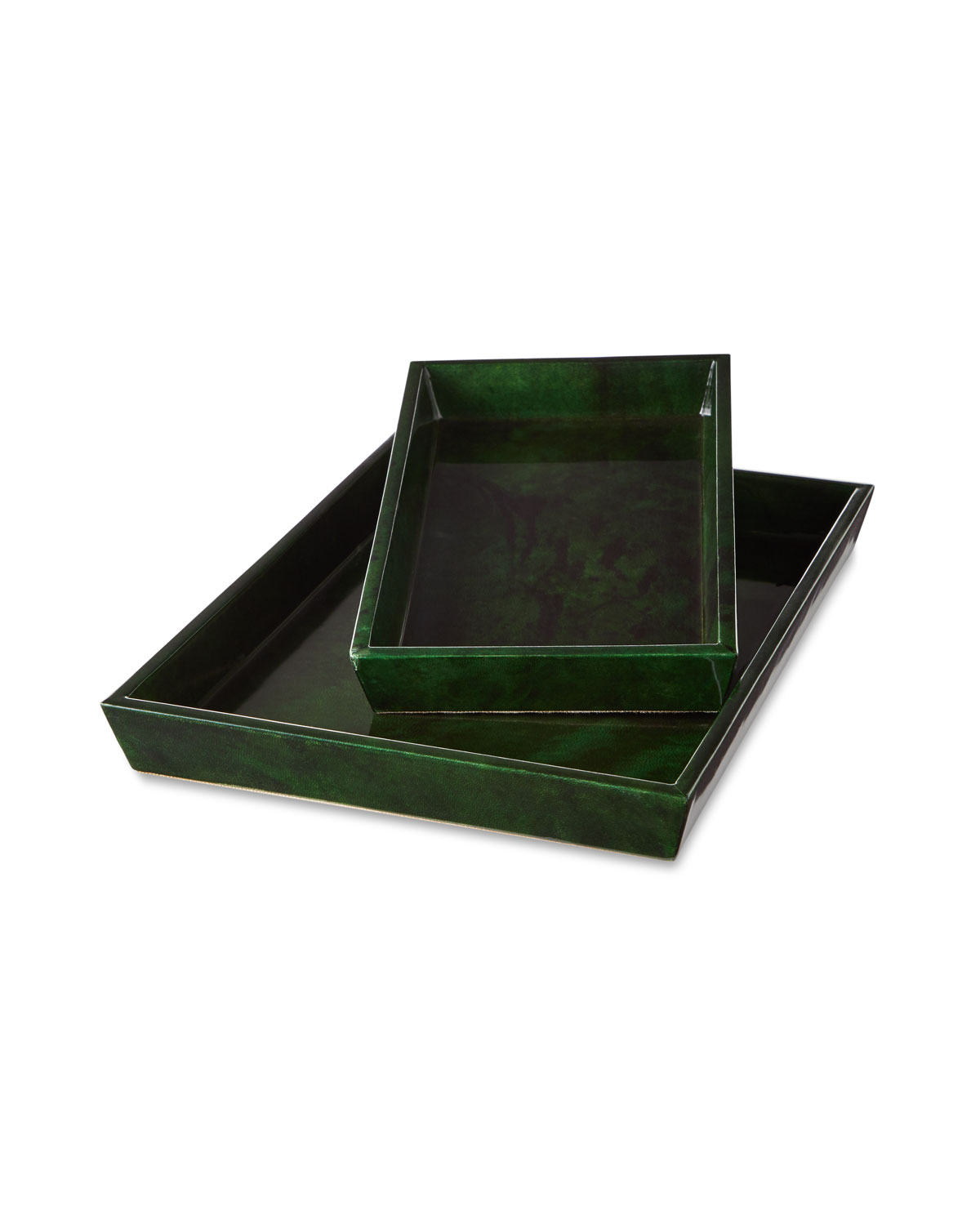Pigeon and Poodle Carlow Nested Trays, Set of 2