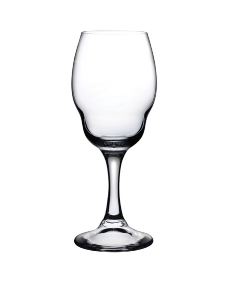 NUDE Heads Up White Wine Glasses, Set of 2