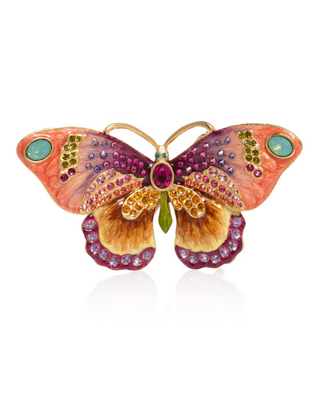 Jay Strongwater Small Butterfly Figurine