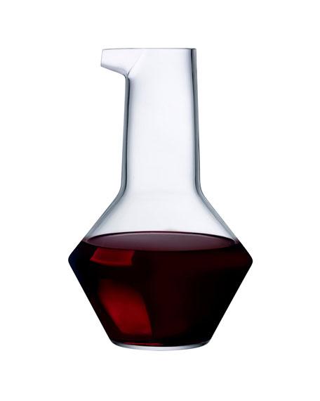 NUDE Beak Wine Decanter, Clear
