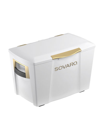 45-Qt. Hard-Sided Cooler, White