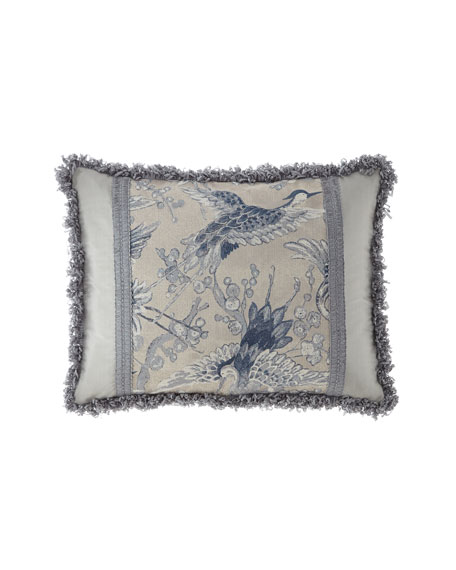 Dian Austin Couture Home Birds of a Feather Pieced King Sham