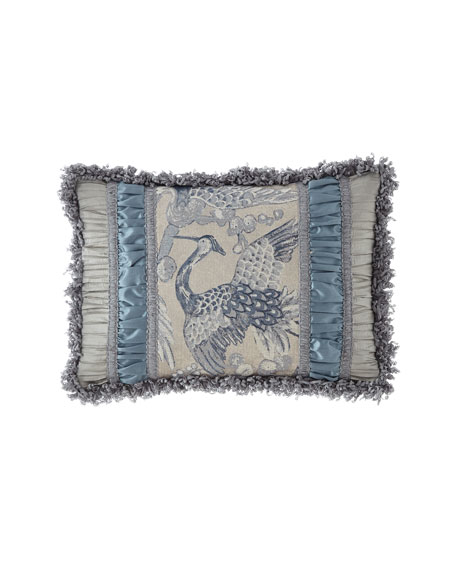 Dian Austin Couture Home Birds of a Feather Pieced Oblong Pillow