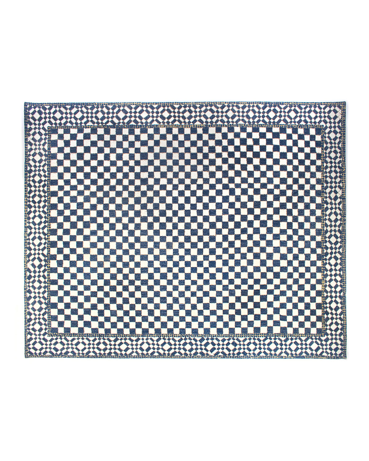 MacKenzie-Childs Royal Check Rug, 8' x 10'