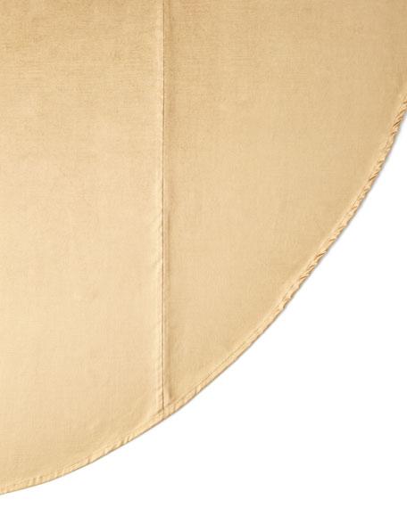 Sweet Dreams Fontenay Velvet Round Tablecloth