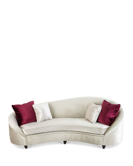 Image 2 of 3: Haute House Yasmine Sofa, 106""