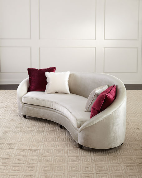 Image 1 of 3: Haute House Yasmine Sofa, 106""