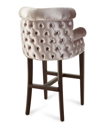 Image 4 of 4: Haute House Eva Mirror Bar Stool