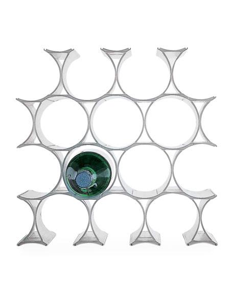 Neiman Marcus Infinity Shatterproof Wine Rack