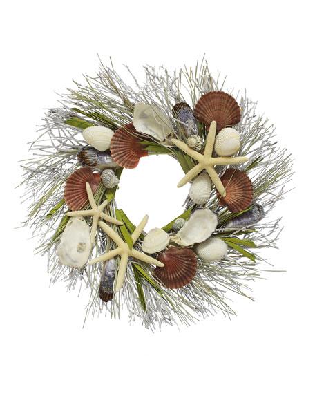 Floral Treasure Coastal Wreath