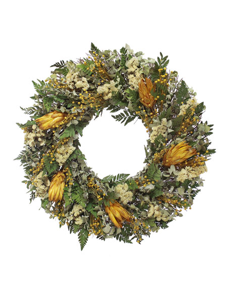 Floral Treasure Welcome Fall Wreath
