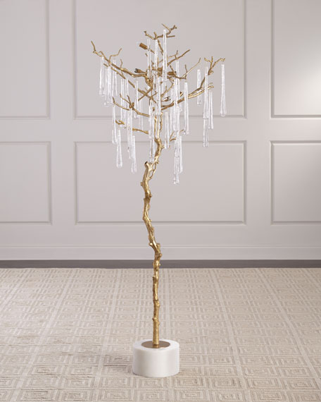 John-Richard Collection Hanging Teardrop Floor Light