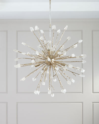 16-Light Spherical Quartz Pendant Light