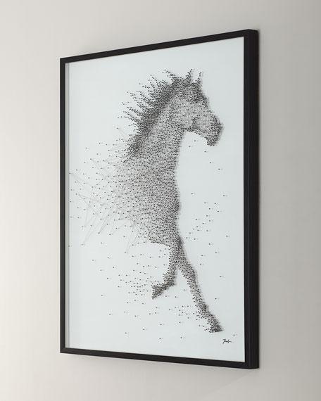 "John-Richard Collection ""Sprinting Stallion"" Canvas Art by Tony Fey"