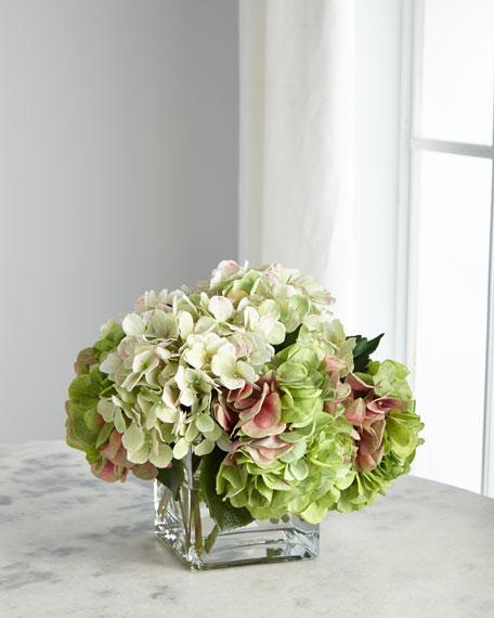 NDI Hydrangea Green Florals